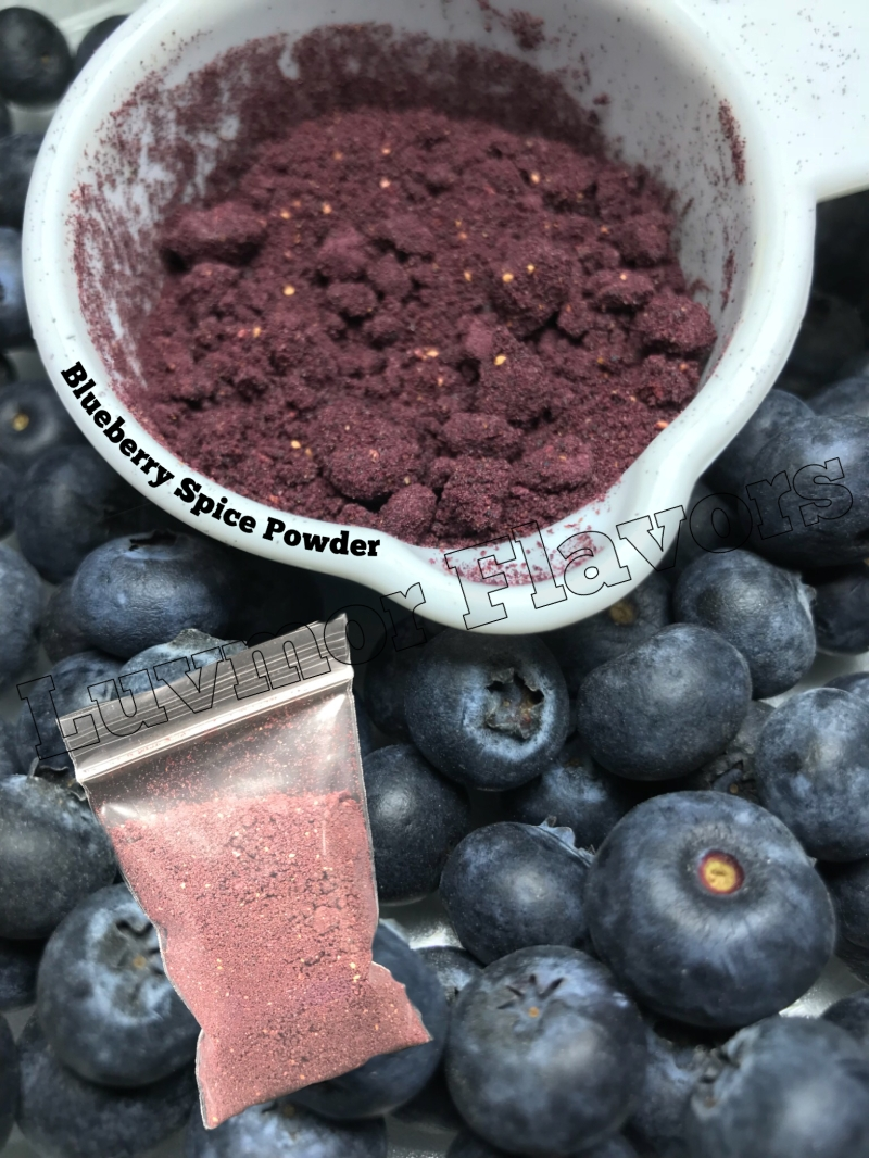 Blueberry Spice Powder